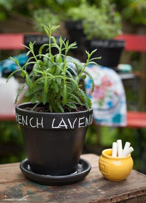 Label Your Flower Pots