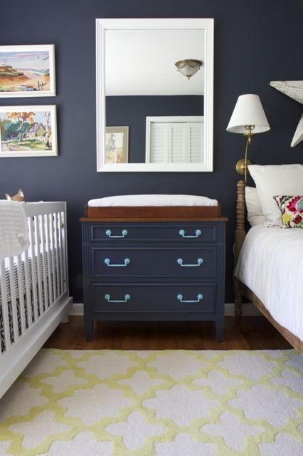 Colour Spotlight Benjamin Moore Hale Navy Rowe
