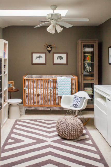 Cozy Chocolate Brown Nursery