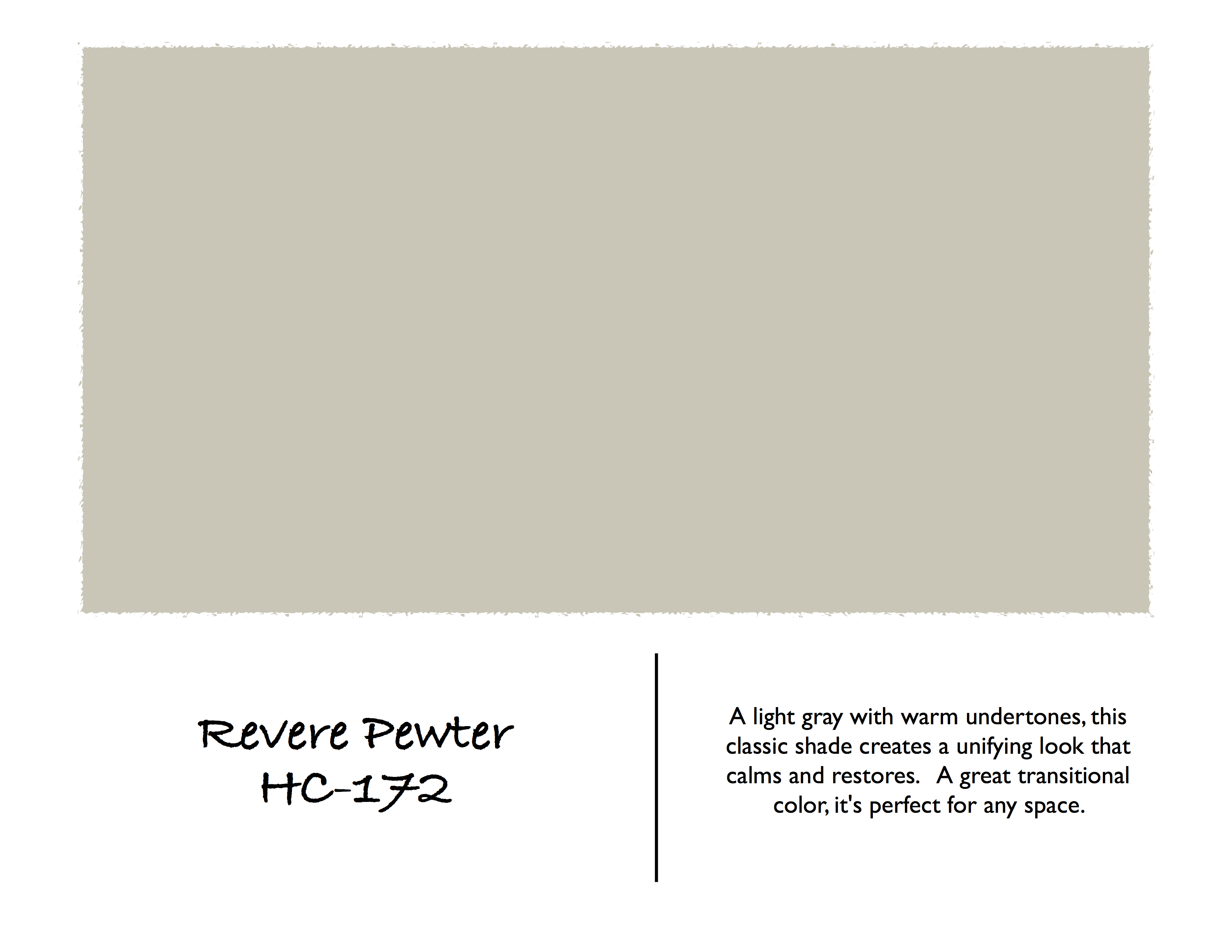 Color spotlight benjamin moore revere pewter rowe Benjamin moore historical collection