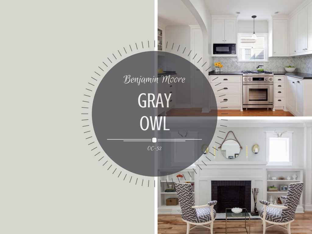 Color Spotlight Benjamin Moore Gray Owl Rowe Spurling