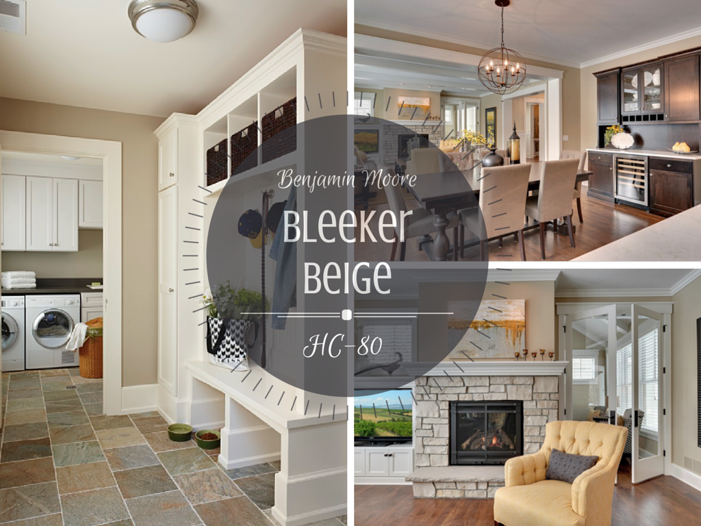 Colour Spotlight Benjamin Moore Bleeker Beige Rowe