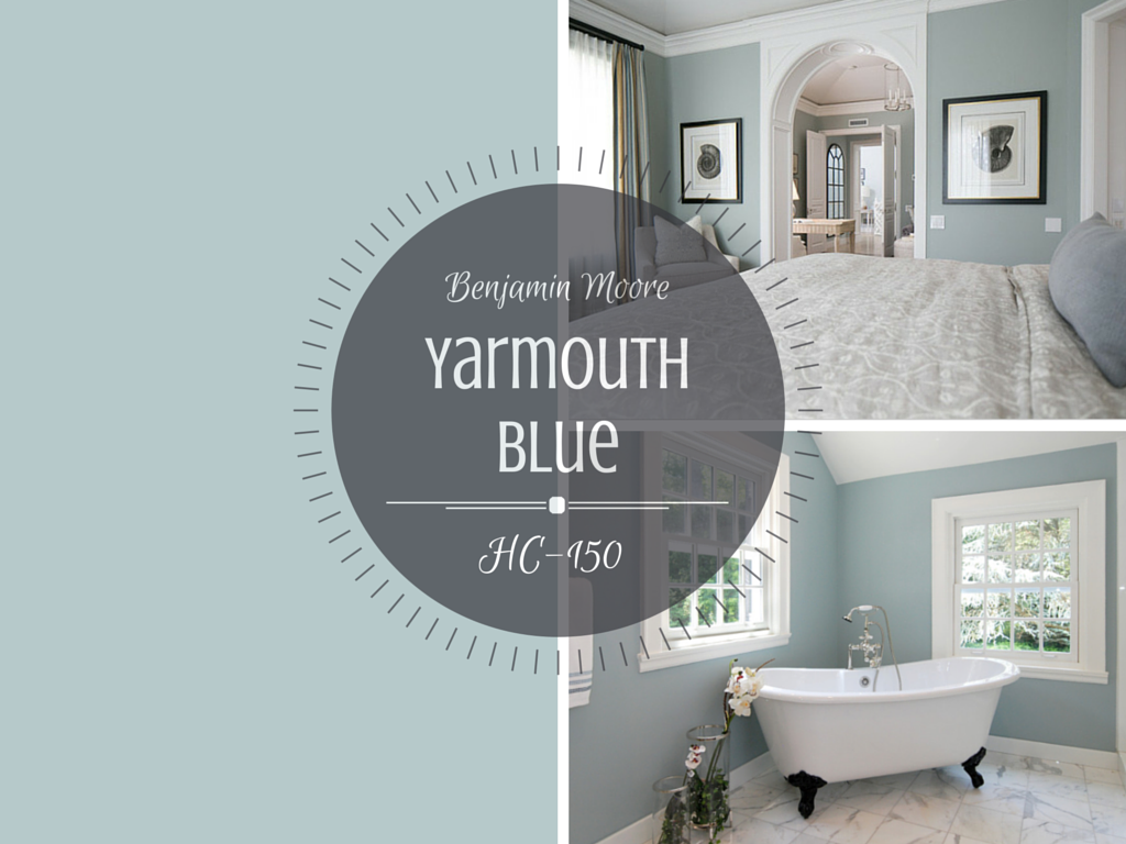 Colour Spotlight Benjamin Moore Yarmouth Blue Hc 150