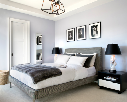 The perfect grey picking the right shade rowe spurling Touch of grey benjamin moore