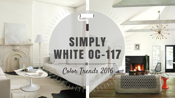 Simply White Oc 117 Benjamin Moore Color Of The Year
