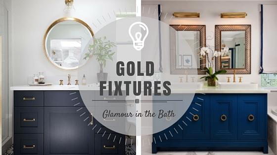GOLD Bathroom Fixtures ROWE SPURLING PAINT COMPANY - Gold bathroom paint