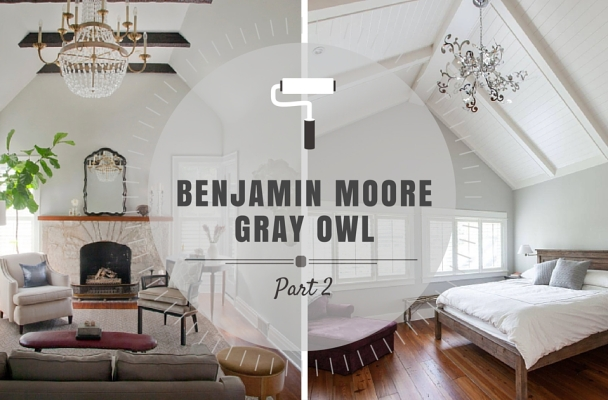 Color spotlight more benjamin moore gray owl rowe for Gray owl benjamin moore
