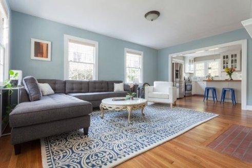 color spotlight benjamin moore smoke rowe spurling. Black Bedroom Furniture Sets. Home Design Ideas