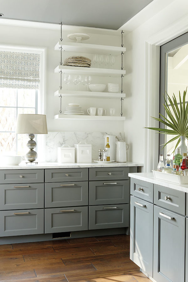 Or If Youu0027re Feeling Really Brave, Skip ALL The Cabinets And Replace With  Decorating Baskets, Crates And Jars.